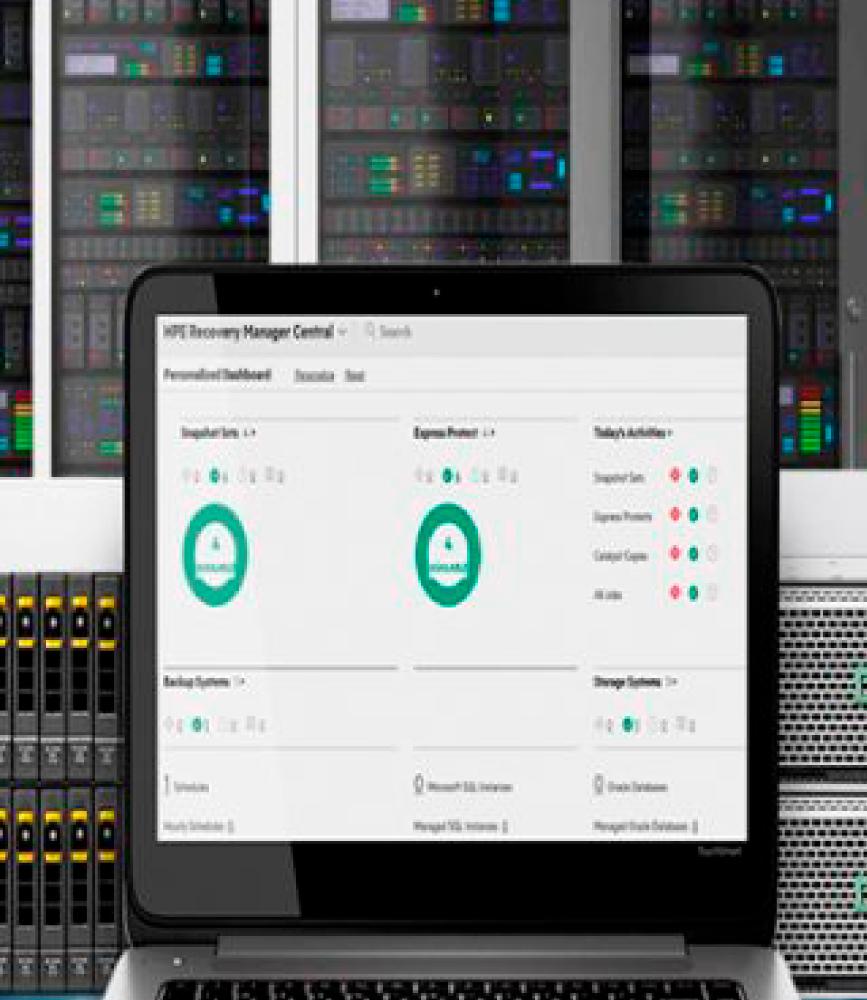 Servicios en Almacenamiento y Software de respaldo